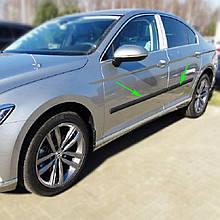 Молдинги на двери для Volkswagen Passat B8 2015+