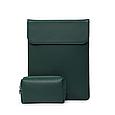 Чехол-конверт для MacBook Air/Pro 13,3'' - зеленый, фото 2