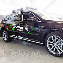 Молдинги на двери для Volkswagen Passat B8 Variant / Alltrack 2015+