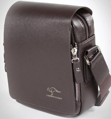 Элегантная мужская сумка-планшет из PU кожи Kangaroo 7171-02