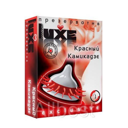 """Презервативы """"Красный камикадзе"""" LUXE -  (LX00002)"""