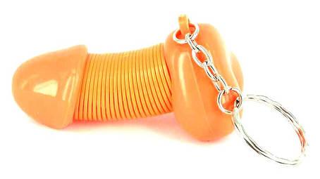 Брелок Пенис на пружинке, фото 2