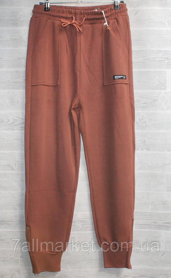 """Спортивні штани жіночі з манжетами, розміри S-2XL (4кол) """"CLOVER"""" від прямого постачальника"""