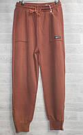 """Спортивні штани жіночі з манжетами, розміри S-2XL (4кол) """"CLOVER"""" від прямого постачальника, фото 1"""