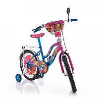 """Мустанг Винкс Mustang Winx 12"""" для девочки двухколесный велосипед"""