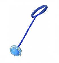 Нейроскакалка з колесом на одну ногу SR19001 62 см світиться (Синій)