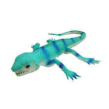 Іграшка Ящірка A119-617 тягучка 35 см (Синій)
