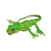 Іграшка Ящірка A119-617 тягучка 35 см (Зелений)