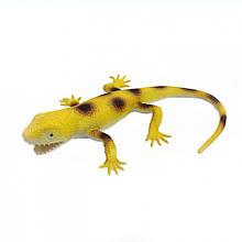 Іграшка Ящірка A119-617 тягучка 35 см (Жовтий)