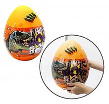"""Дитячий набір для творчості в яйці """"Dino WOW Box"""" DWB-01-01U, 20 предметів (Помаранчевий)"""