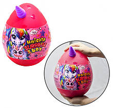"Набор для творчества в яйце ""Unicorn Surprise Box"" USB-01-01U для девочки (Розовый)"
