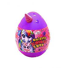 """Набір для творчості в яйці """"Unicorn Surprise Box"""" USB-01-01U для дівчинки (Фіолетовий)"""