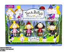 Ігровий набір фігурок Ben & Holly 53022, у наборі 4 фігурки