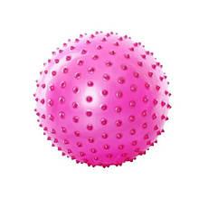 М'яч масажний MS 0023 8 дюймів (Рожевий)