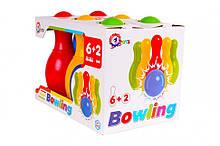 Детский набор для игры в боулинг 4692TXK, 6 кегель+ 2 мяча