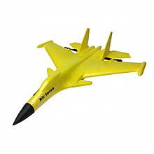 Планер винищувач на р/у J15 час польоту 15 хв. (Жовтий)