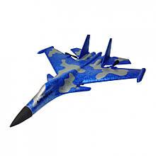 Планер винищувач на р/у J15 час польоту 15 хв. (Синій, Хакі)
