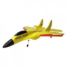 Планер МиГ-530 на р/у 9087 время полета 15 мин. (Желтый)