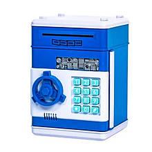 Электронная копилка-сейф 1511ST с кодовым замком  (Синий)