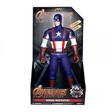 Игрушечные фигурки Марвел 9806 на батарейках (Captain America)