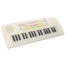 Дитячий синтезатор BX-1605BC 37 клавіш (Білий)