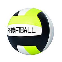 М'яч волейбольний MS 3361 5 розмір (Чорний)