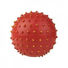 М'яч масажний MS 0025 5 дюймів (Червоний)
