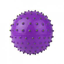 М'яч масажний MS 0025 5 дюймів (Фіолетовий)