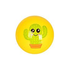 М'яч-стрибунець дитячий MS 2656, 9 дюймів (Жовтий)