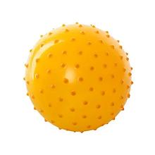М'яч масажний MS 0021, 3 дюйма (Жовтий)