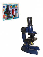 Мікроскоп іграшковий 3103 А з аксесуарами (Синій)