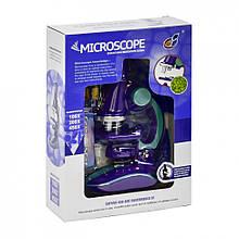 Микроскоп игрушечный С 2127 с аксессуарами (Фиолетовый)