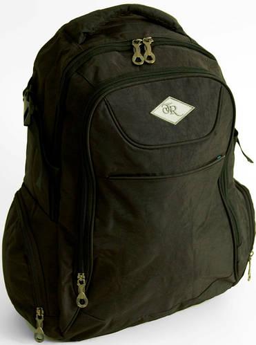 Удобный городской рюкзак Traum 7027-02 черный
