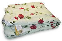 Одеяло шерстяное Зима 172x205см, овечья шерсть 100%, Leleka-Textile