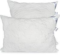 Подушка Эконом стеганая, антиалергенное волокно-шарики, 50х70см, Leleka Textile