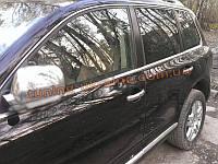Хромированные накладки на зеркала Hyundai Tucson 2004-09