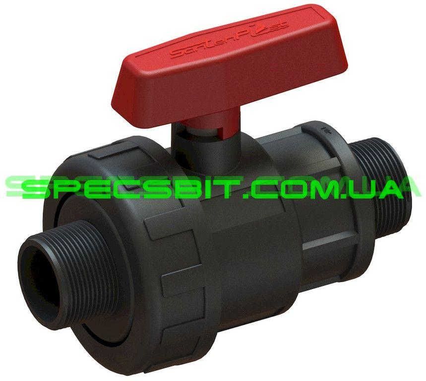 Кран шаровый HH 3/4 Santehplast (Сантехпласт) компрессионный