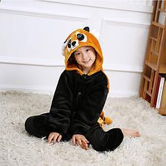 Пижама детская Kigurumba Красная панда S - рост 105 - 115 см Черно-Коричневый K0W1-0108-S ZZ, КОД: 1777076