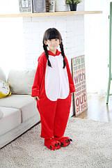 Пижама детская Kigurumba Angry Birds XL - рост 135 - 145 см Красный с белым K0W1-0001-XL ZZ, КОД: 1777421