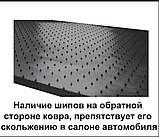 Автомобільні килимки Stingray Citroen C-Crosser 2007-2013 2шт, фото 8