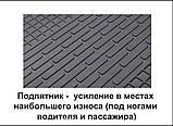 Автомобільні килимки Stingray Citroen C-Crosser 2007-2013 2шт, фото 6