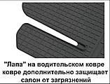 Автомобільні килимки Stingray Citroen C-Crosser 2007-2013 2шт, фото 7