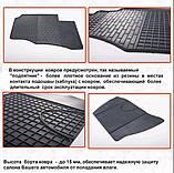 Автомобільні килимки Stingray Citroen C-Crosser 2007-2013 2шт, фото 2