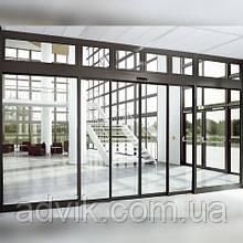 Телескопічні автоматичні розсувні двері G-U GS-100Т (Німеччина)