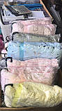 Дитячий велюровий плед на овчині двосторонній теплий 110*140 см на вішалці Блакитного кольору для хлопчика, фото 7