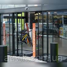 Телескопические автоматические раздвижные двери Portalp DIVA LCT (Франция)