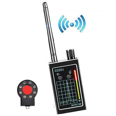 Детектор жучков, скрытых камер, обнаружитель прослушки и трекеров на магните Protect G320i