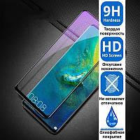Samsung Galaxy A03s A037 Защитное Стекло Full Glue (черная рамка)