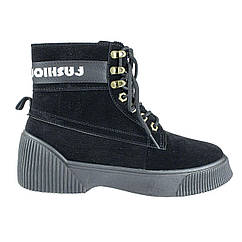 Ботинки Violeta Wonex 20-749 38 Черный 20-749BK ZZ, КОД: 2493206