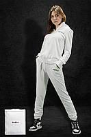 Спортивный костюм NAXU-Y на молнии L Белый 0003v PK, КОД: 2615186